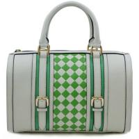 Buy cheap Embossed leather fashion checkered drum leather bags  product