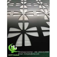 Buy cheap Hollow Laser Cut Aluminium Screens Fence Decoration Perforated Pvdf Painted product