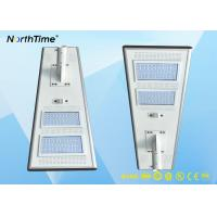China 100 Watt All in One Motion Sensor Street Lights With 5 Years Guaranty CE RoHs IP65 Approved on sale