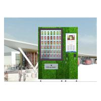 Buy cheap QR Code Fresh Fruit Food Salad Vending Machine Refrigerator With Touch Screen product
