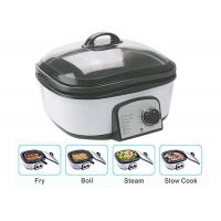 Buy cheap Slow Small Electric Multi Cooker Glass Cover With Stainless Steel Steamer Rack product