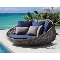 China New Design Patio Wicker Garden Furniture Sofa Bed Rattan Outdoor Furniture on sale
