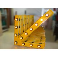 Buy cheap Solar Arrow Board Aluminum Traffic Arrow Sign With 13 Pcs Warning Lamps from wholesalers