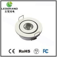 Buy cheap 1W / 3W 42mm 3000K - 6500K LED Downlights Dimmable LG-TH-1001A (Bridgelux / Cree) product