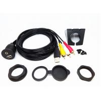 6 Ft USB Extension Data Cable Audio Video Flush Mount Set For Car Dashboard