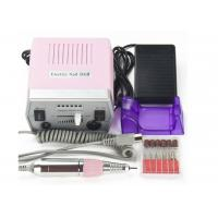 Buy cheap ABS Plastic Pink Pedicure Acrylics Professional Electric Nail Drill 24*20*9.5cm product