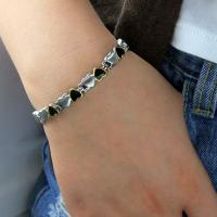 Buy cheap 2016 Fitness Jewelry 316L Stainless Steel Germanium Bracelet Designed For Couple,stainless steel bracelet product