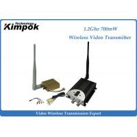 Buy cheap 1400m AV COFDM Wireless Transmitter / Video Transmission Equipment 8CHs product
