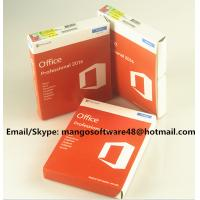 Quality 32 / 64 Bit Office 2016 Pro Plus Retail For Global Area Full Functions for sale