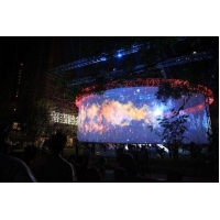Buy cheap 50m Length Transparent Holographic Mesh Screen 2.4 Gain For Live Show product