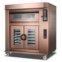 Buy cheap 3 Deck Electric Baking Ovens For Bread / Independent Temperature Control Evenly Luxuly Bakery Oven Machine product