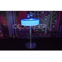 China Lighted Plastic Furniture Round Water Resistant LED Pool Table on sale