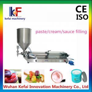 Pneumatic Piston Cream/Paste Filling Machine,automatic hot sauce filling machine