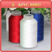China Customized Embroidery Filament Thread 120D / 2 High Temperature Resistant on sale