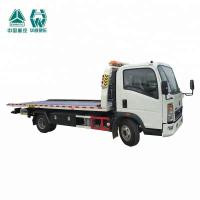 Buy cheap LHD Flat Bed Wrecker Tow Truck For Moving Indisposed Motor Vehicles 7600X2500X2650mm product