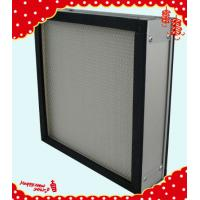 Buy cheap 305x305x90mm aluminum frame mini pleated electrostatic air filter China manufacturer product