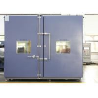 Buy cheap CE Walk-in Chamber / Climatic Test Chamber Environmental Rooms Moisture Temperature For Biological product