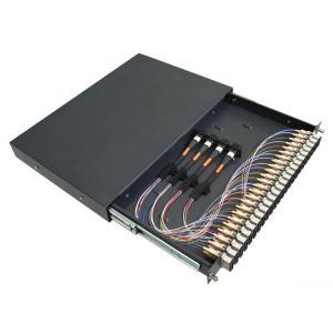 Buy cheap 12 Port SC MM simplex Connectors Rack Mount with Fiber Enclosure and adaptors from wholesalers