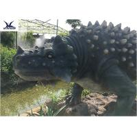 Buy cheap Artificial Animatronic Dinosaur Lawn Statue For Outdoor Amusement Theme Park product