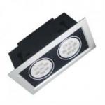 10W 100 - 240V Green Light 24 /40/ 60 beam angle LED Downlight bulbs for indoor using