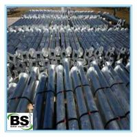 China Hot dip galvanized screw piers foundation construction for support mobile home on sale