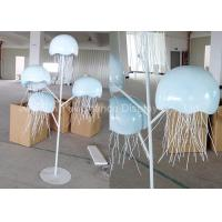 China Metal Decorations Crafts Customized Size Handmade Metal Jellyfish Statue on sale