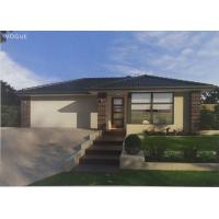 China High Acoustic Insulation Prefab Bungalow Homes / Prefab Mobile Homes With Pvc Sliding Door on sale