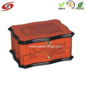 Buy cheap La boîte en bois de bijoux/boîte à bijoux adaptent aux besoins du client/la conception boîte en bois/boîte emballage de boîte à bijoux/bijoux product