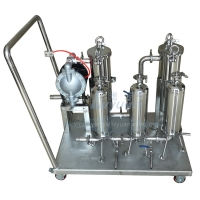 Buy cheap Fuel Diesel 100psi Stainless Steel SS3316L Liquid Filtration Machine product