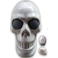 China Skeleton Head Li-ion Battery Mini Speaker Black or White Std-Mc144 on sale
