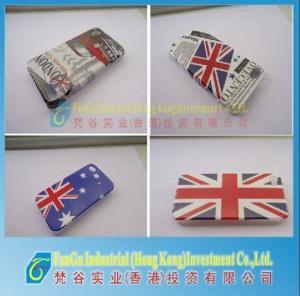 iphone4/4sのための英国国旗の裏表紙/ハウジング