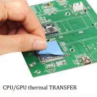 Buy cheap Precut thermal transfer thermal conduct silicone pad silicone sheet for CPU/GPU/heat sink product