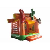 Buy cheap Wild West Big Bounce House Customized , Digital Painting Huge Bounce House product