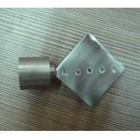 China Metal curtain pole ends on sale