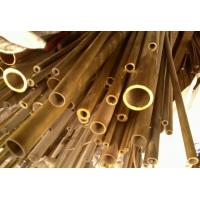 Buy cheap C44300 / CuZn28Sn1As / CZ111 Yellow Copper Pipes , Seamless Brass Tube product