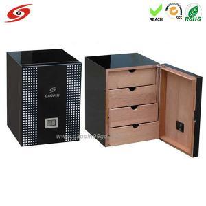 Buy cheap Gabinete de madera del cigarro (de alta calidad)/customzie de madera del cigarro/diseño de la caja de madera del cigarro/de la caja de madera product