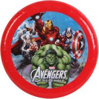 China Durable Marvel Plastic Flying Disc , Red 9inch Flying Disc Frisbee on sale