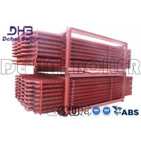 Buy cheap Industrial Biomass Boiler Finned Tube Economizer Painted Anti Corrosion product