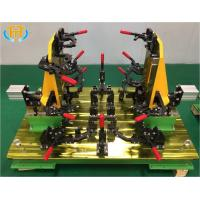 Buy cheap Customized Welding Jig Fixture For Tractor Engine Cover Stamping Component product