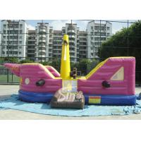 Buy cheap 7x4 meters children pirate ship inflatable bouncer with EN14960 certified made of lead free material product