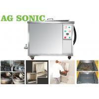 Buy cheap 84L Tank Ultrasonic Engine Cleaner Power Adjustable With Drying / Filtering Option product