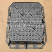 Buy cheap Heavy Duty Sand Cast Ductile Iron Double Triangular Manhole Cover & Frame Drawing From China product