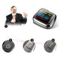 Buy cheap Low Level Laser Therapy Watch Laser Physiotherapy Equipment For High Blood Fat product