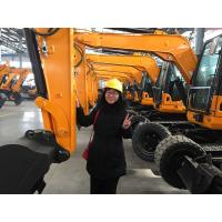Buy cheap 39.8KW Tier 3 DOOSAN hydraulic main pump middle size excavator track digger for sale in ireland product