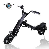 Buy cheap Pink / Black Halley Folding Electric Scooter , Mini Electric Bicycle DC 36V product