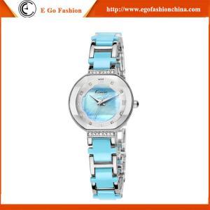 Buy cheap Reloj lleno de Rhinstone del reloj de la marca KIMIO China del top KM13 para las mujeres azules del reloj del rosa de la mujer product