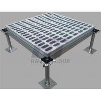 Buy cheap Network Server Room Aluminium Raised Floor Perforated Anti - Wear product