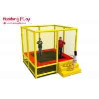 Buy cheap Toddler Trampoline Park Equipment 7 Feet With Safety Net Enhance Motor Skills product