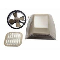 Buy cheap Shark Fin Style 5.6KG Toyota Coaster Bus Parts Airflow Exhaust Fan product