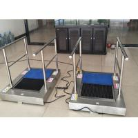 Buy cheap AC220 Kitchen Shoe Sole Cleaning Machine With Handrail , Cleaning By Water To Australia product